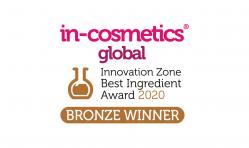 Bronze Award in-cosmetics Global